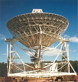 Радиоинтерферометрическая антенна нового поколения используется в области радиоинтерферометрии и в службе всемирного времени. Параболоид диаметром 32 м.