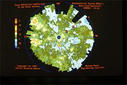 Картографирование северного полушария планеты Венера.